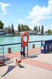 Balaton Hungary European big lake Tihany city view 2018 summer travel tourism photos royalty free stock images