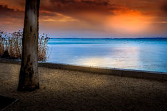 balaton Hungary jezioro Obrazy Stock