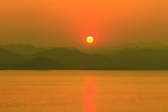 balaton hungary lake make photo sunset Стоковое Изображение RF