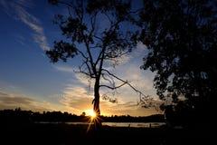 balaton hungary lake make photo sunset Стоковое фото RF