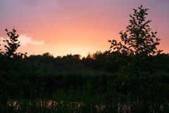 balaton Hungary robi zdjęcie zmierzchowi lake Zdjęcie Royalty Free