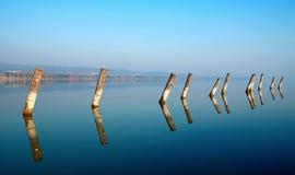 balaton jeziora stosy Zdjęcia Royalty Free
