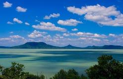balaton jezioro zdjęcia stock