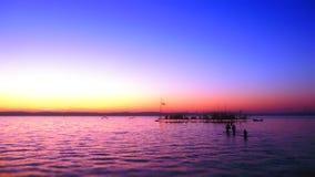 Balaton Lake Arkivbild