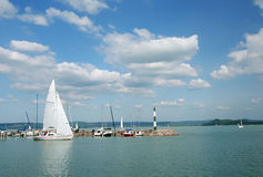 Balaton lake series 7. Stock Images