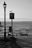 Balaton lake shore Royalty Free Stock Photo