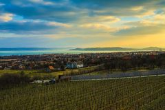 Balaton Landscape Stock Photos