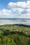 Balaton landscape Stock Photo