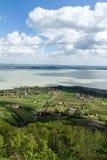 Balaton landscape. Landscape of the Balaton lake in Hungary Stock Photo