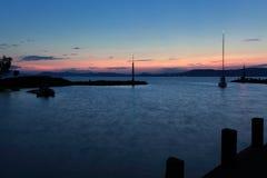 balaton sailboat λιμενικών λιμνών Στοκ φωτογραφία με δικαίωμα ελεύθερης χρήσης