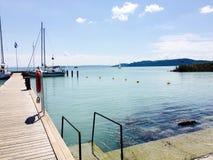 Balaton sjö 2 Fotografering för Bildbyråer