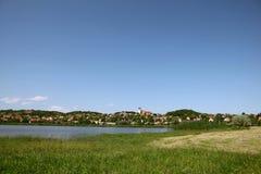 balaton tihany匈牙利的湖 库存图片