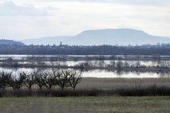 Balaton uplands. On a rainy day in Hungary Stock Photography