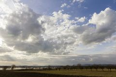 Balaton uplands. On a rainy day in Hungary Stock Images