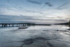 BalatonfűzfÅ ` plaża Zdjęcia Stock