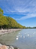 Balatonfuered,Lake Balaton,Hungary Royalty Free Stock Photo