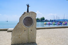 Balatonfured Obrazy Royalty Free