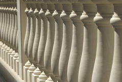 Balaustra di pietra Fotografia Stock