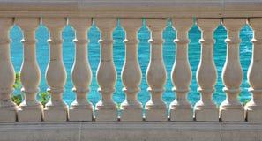 Balaustrada de pedra Imagem de Stock Royalty Free