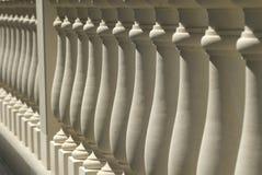 Balaustrada de pedra Foto de Stock