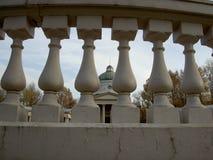 Balaustrada de pedra Tsaritsyno Foto de Stock