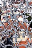 Balaustrada do ferro forjado imagens de stock royalty free