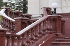 Balaustradas do granito Fotos de Stock Royalty Free