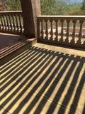 Balaustradas & sombras Fotos de Stock
