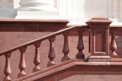 Balaustre del granito Fotografia Stock