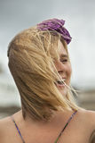 Balayé par le vent Photographie stock libre de droits