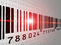 Balayage de code barres Images libres de droits