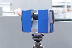 Balayage de laser Photographie stock libre de droits