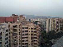 Balayage de route de kurla d'andheri de Mumbai Photographie stock