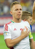 Balazs Dzsudzsak in Romania-Hungary World Cup Qualifier Game Royalty Free Stock Image