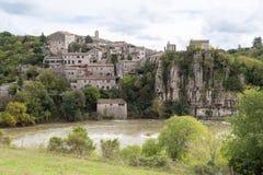 Balazuc village in the Ardeche Stock Photos