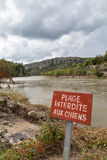 Balazuc village in the Ardeche river Royalty Free Stock Images