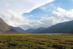 Balban-Lake. Lake Balban Balbanty in the Komi, Russia Royalty Free Stock Photo