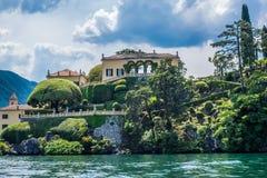 balbianello del villa 免版税图库摄影