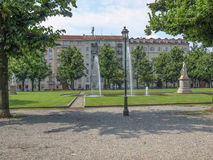Balbo park in Turin Italy Royalty Free Stock Image