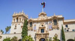 Balboa gościa Parkowy centrum i Prado restauracja w - 21, 2017 - Zdjęcie Royalty Free