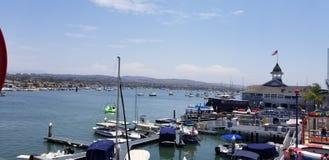 Balboa Harbor royalty free stock photo