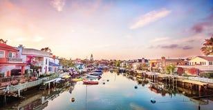 Balboa-Insel in den Farben Stockfoto