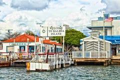 Free Balboa Island Coastline Boat Launch Royalty Free Stock Images - 163357549