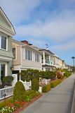 Balboa Island Neighborhood Royalty Free Stock Images