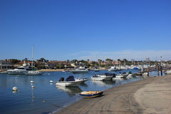 Balboa Island, New Port Beach, California Stock Images
