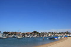 Balboa Island, New Port Beach, California Royalty Free Stock Image
