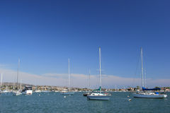 Balboa Island, New Port Beach, California Stock Photos