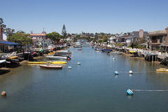 Balboa Island, Newport Beach Stock Photography