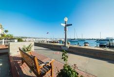 Balboa island sea front. California Stock Images