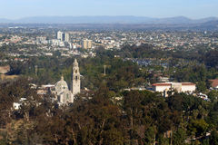 Balboa Park Aerial View Royalty Free Stock Photography